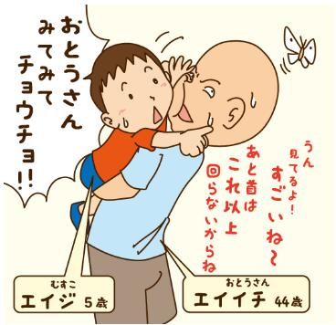 [그림 3] 가사・육아 참여 남성 작가의 연재만화