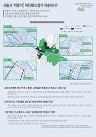 서울시 '따릉이', 어디에서 많이 이용하나? (서울인포그래픽스 제269호)  썸네일