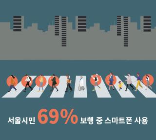 걷는 도시 서울, 스몸비에 어떻게 대응해야 할까?