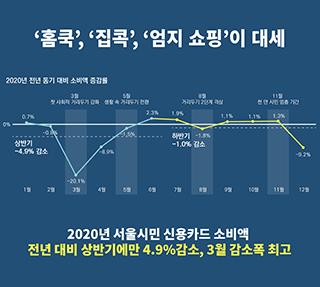 코로나19가 바꾼 2020년 서울시민의 소비Ⅰ