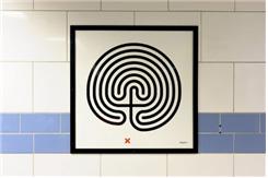 그림. Labyrinth, 마크 웰링거, 그린파크 역, 2013