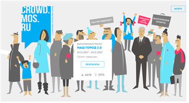 [그림 1] 액티브 시티즌의 온라인 투표 홈페이지