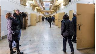 [그림 1] 시민에게 무료 개방된 옛 교도소 시설 라모델로 내부