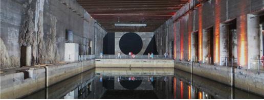 [그림 2] 문화공간으로 활용되는 보르도 근대 건축유산인 '나치 잠수함 벙커기지'
