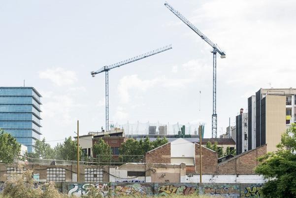 [그림 1] 바르셀로나 신규주택 건설 모습