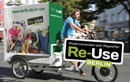 [그림 1] 리유즈 베를린 중고물품 수집 바이크